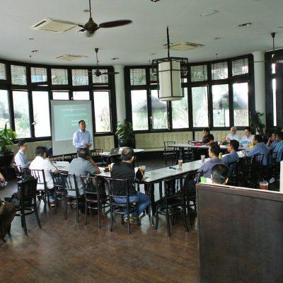 Full house event at Teh-Tarik session on BackupAssist v9.